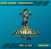 Tomb Raider Annivers Dock Icon by Dohc-WP