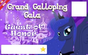 Galacon Ticket art: Guest of Honor by Rautakoura