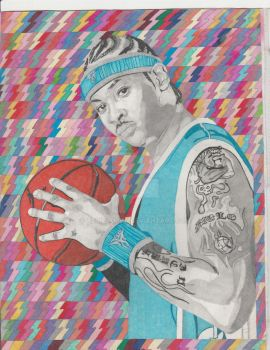 Carmelo Anthony 2 by AfroSamVa