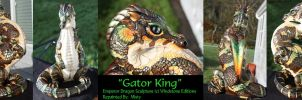 Gator King by MistysArt