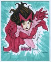 Scarlet Witch artist proof commission by mdavidct