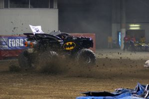 Holey dusty donuts Batman. by civilpython