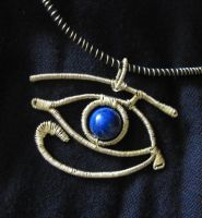 The Eye of Horus by Guenieviere