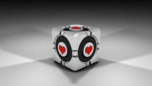 3D Companion Cube by wirrew