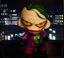 TDK Joker Munny WIP by KidNotorious