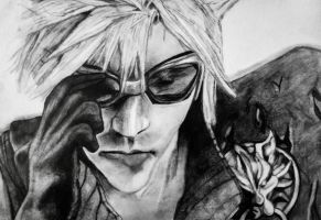 Cloud Strife - Advent Children. by siobhanS15