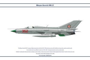 MiG-21 Afghanistan 1 by WS-Clave