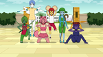 Pokemon Team from Emerald. by lstarr111