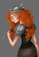 Viking Merida by LouiseWitchy