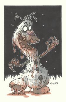 THE ABOMINABLE SNOWMAN by leagueof1