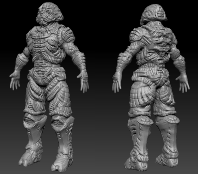 Zbrush Practice2 by UltimaFatalis