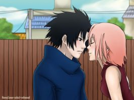 SasuSaku by Honney and asha by nelsonaof