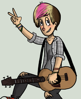 Alex Gaskarth by fruitycutie