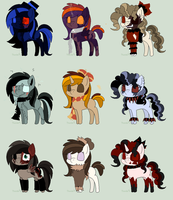 Mares Batch -3- (--HALLOWEEN--) (OPEN) by sharinqan