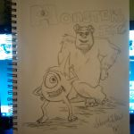 Monsters Inc by 07SABII22