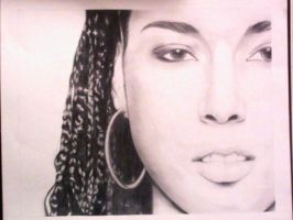 Alicia Keys by karl-anthony