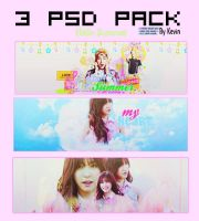 PSD PACK #3 By Kevin by kevindesigndumhoi