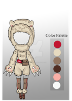 (CLOSED) Auction Adopt - Cuddle Outfit by CherrysDesigns