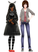 [MMD] Choose a model - Read the description by denisse-san
