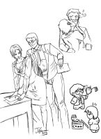 Office love lovesheet commission XD by Destinyfall
