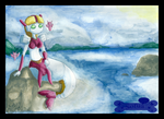 By the Ocean by Sofua