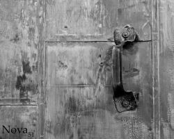 Weathered Door by Nova51Photography