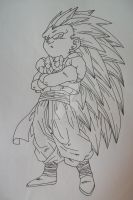 Fusion Time! Gotenks by SakakiTheMastermind