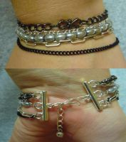 Chain Bracelet by Impure-Escape