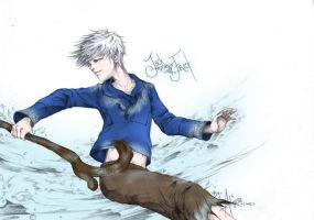 Jack Frost on Ice by Itachisgirl4ever