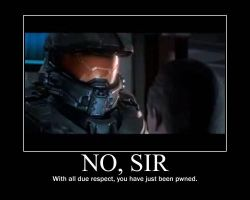 Master Chief No Sir Motivational by Saberstorm001