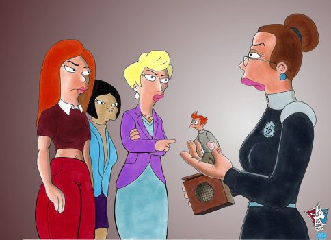 Morgan and the Women by Gulliver63