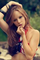 american girl by Violetessa