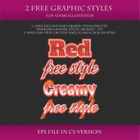 FREE Graphic Styles for Adobe Illustrator #16 by Love-Kay