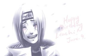 Happy Birthday Itachi by khari-guardian