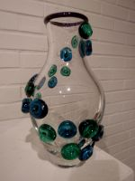 green and blue tentacle vase by dailydoseofska