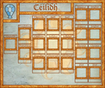 Solar Knights of Laughter Rank Sheet 2, Ceilidh by GeneralDurandal