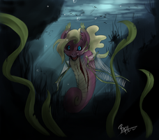 MLP - Rotten seapony by MadCookiefighter