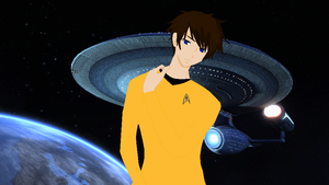 Captain Chris P. McCoy of the USS Galileo by sky-the-ripper