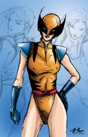 Lady Wolverine by nUedle