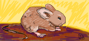 Oekaki: Mouse by silverbamboo
