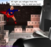 Supergirl Dr Anomaly 9 by CaptainZammo