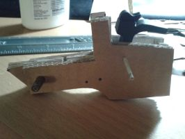 Thompson Contender WIP 2 by BuildMyPaperHeart