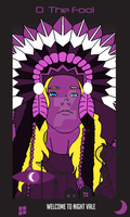 Welcome to Night Vale Tarot: 0 - The Fool by Mitszell