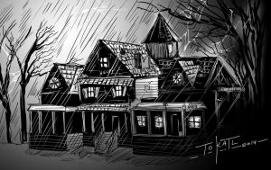 haunted house by tokatl