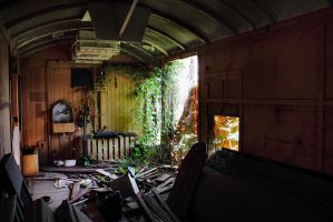 Old carriage by AaronJJenkins