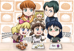 Patatas Friends by nihase
