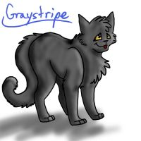 2. Graystripe by GingerFlight