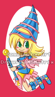 Commission: Dark Magician Girl by LowRend