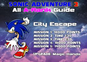 SA2 A Rank Guide - Sonic City Escape by Sonicguru