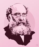 Anthony Trollope by monsteroftheid